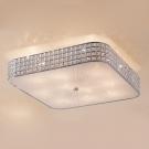 CITILUX CL324201 Потолочный светильник ПОРТАЛ 10x60 E14 Хром/Прозрачный + матовое стекло