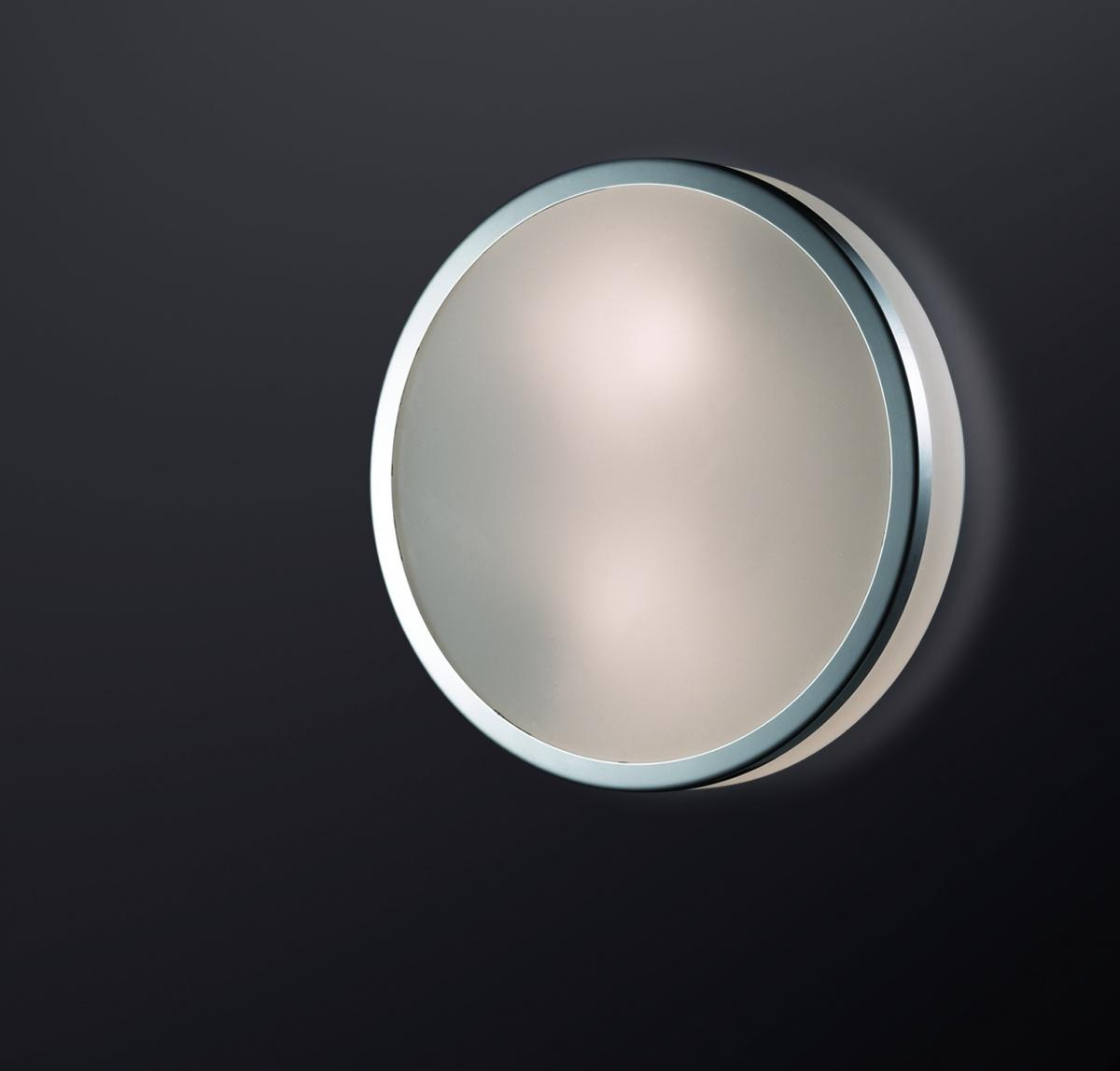 Odeon Light 2177/1C Настенно-потолочный светильник YUN 1х60W E27 IP44 хром