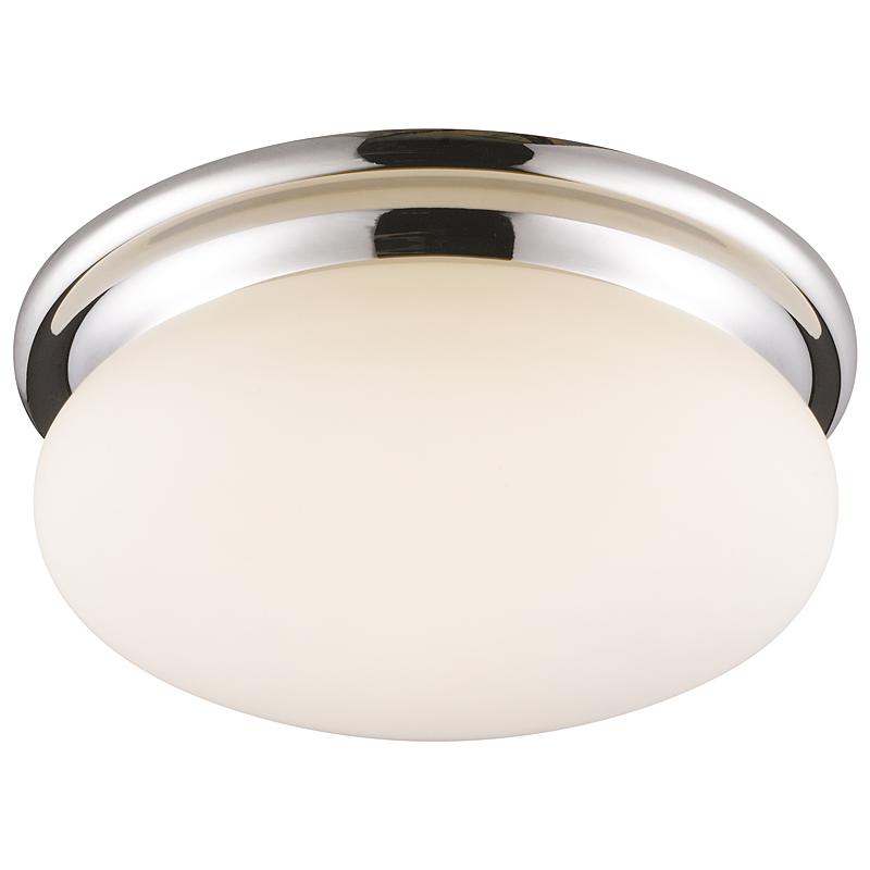 Arte Lamp A2916PL-1CC Настенно-потолочный светильник AQUA 1x60W E27 хром / белый