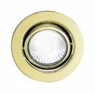 Eglo 80383 Встраиваемый светильник EINBAUSPOT 1x20W GU5,3 золото