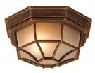 Globo 31213 Уличный настенно-потолочный светильник PERSEUS 1x60W E27 золотисто-коричневый