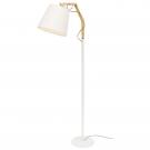 Arte Lamp A5700PN-1WH Торшер PINOCCIO 1x60W Е27 белый / белый
