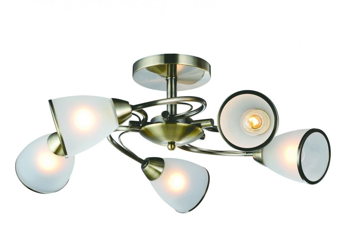 A6056PL-5AB Люстра потолочная INNOCENTE 5x60W, 5xE14 Arte Lamp