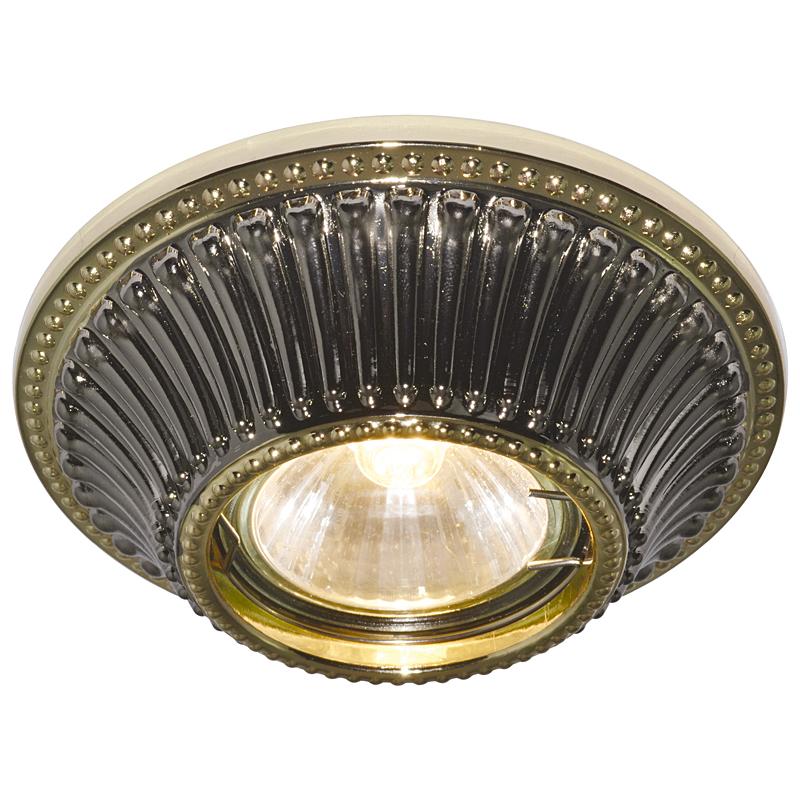 Arte Lamp A5298PL-1BA Встраиваемый светильник неповоротный ARENA 1x50W GU10 / G5,3 античный черный