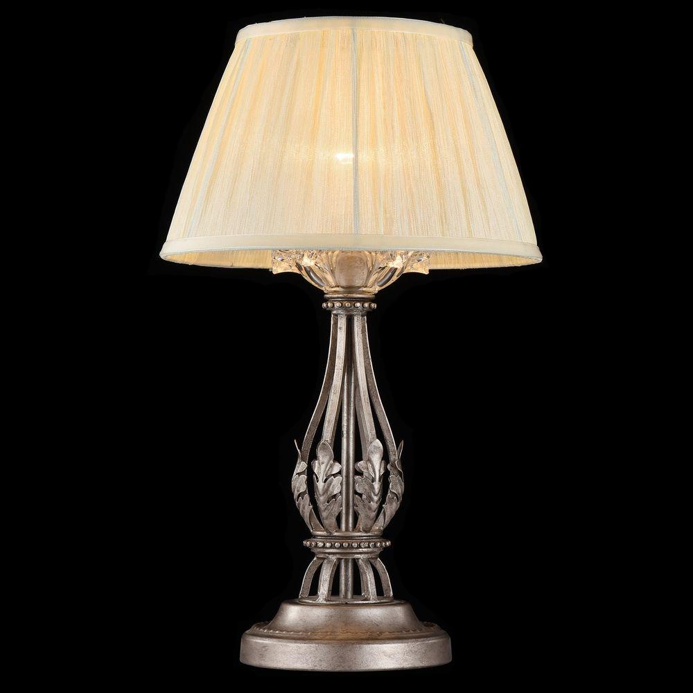 MAYTONI H525-11-N Настольная Лампа MARGO 1 x E14 40W Платиновое Серебро