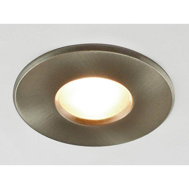 Arte Lamp A5440PL-3SS Встраиваемый светильник неповоротный AQUA 3x50W GU10 матовое серебро IP44