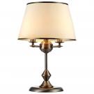 Arte Lamp A3579LT-3AB Настольная лампа  ALICE 3x40W E14 античная бронза