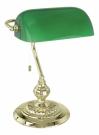 Eglo 90967 настольная лампа  BANKER 1x60W золото