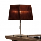 CITILUX CL914812 Настольная лампа ГОФРЕ 1x75W E27 хром