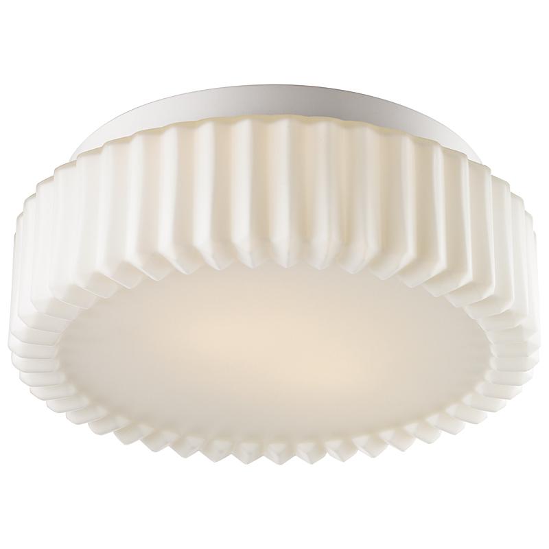Arte Lamp A5027PL-2WH Настенно-потолочный светильник AQUA 2x60W E27 белый / белый