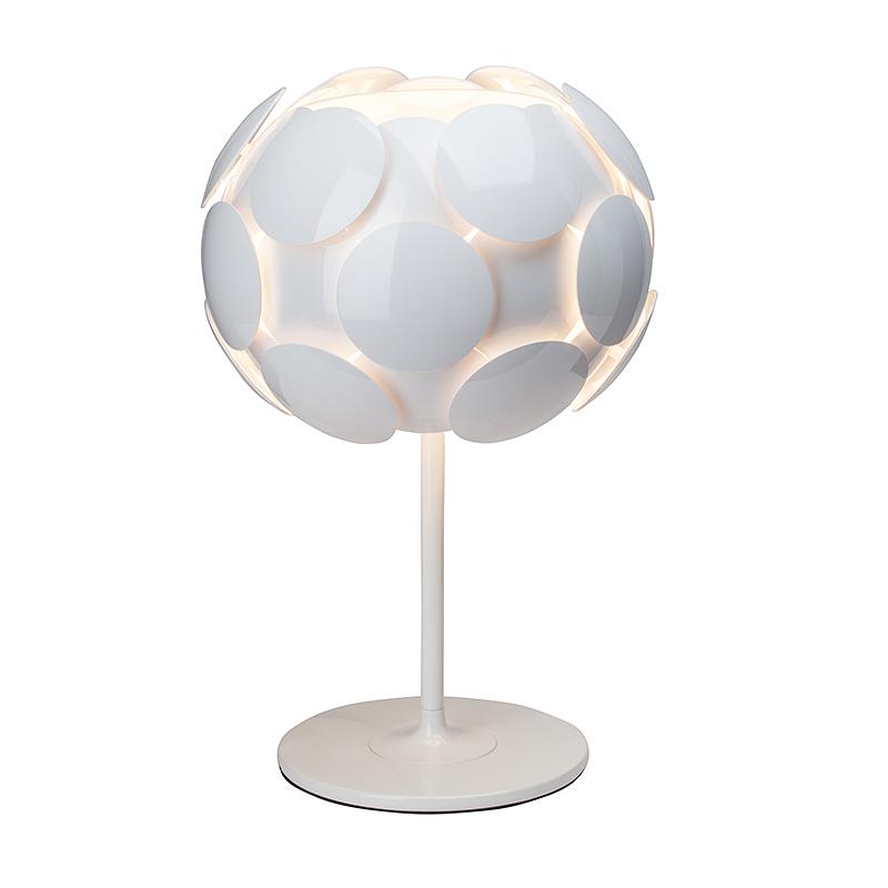 Brilliant 60848/05 Настольная лампа STATUS 1x60W E27 белый/белый