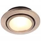 Arte Lamp A2023PL-3AB Встраиваемый светильник мебельный TOPIC 3x20W G4 античная бронза
