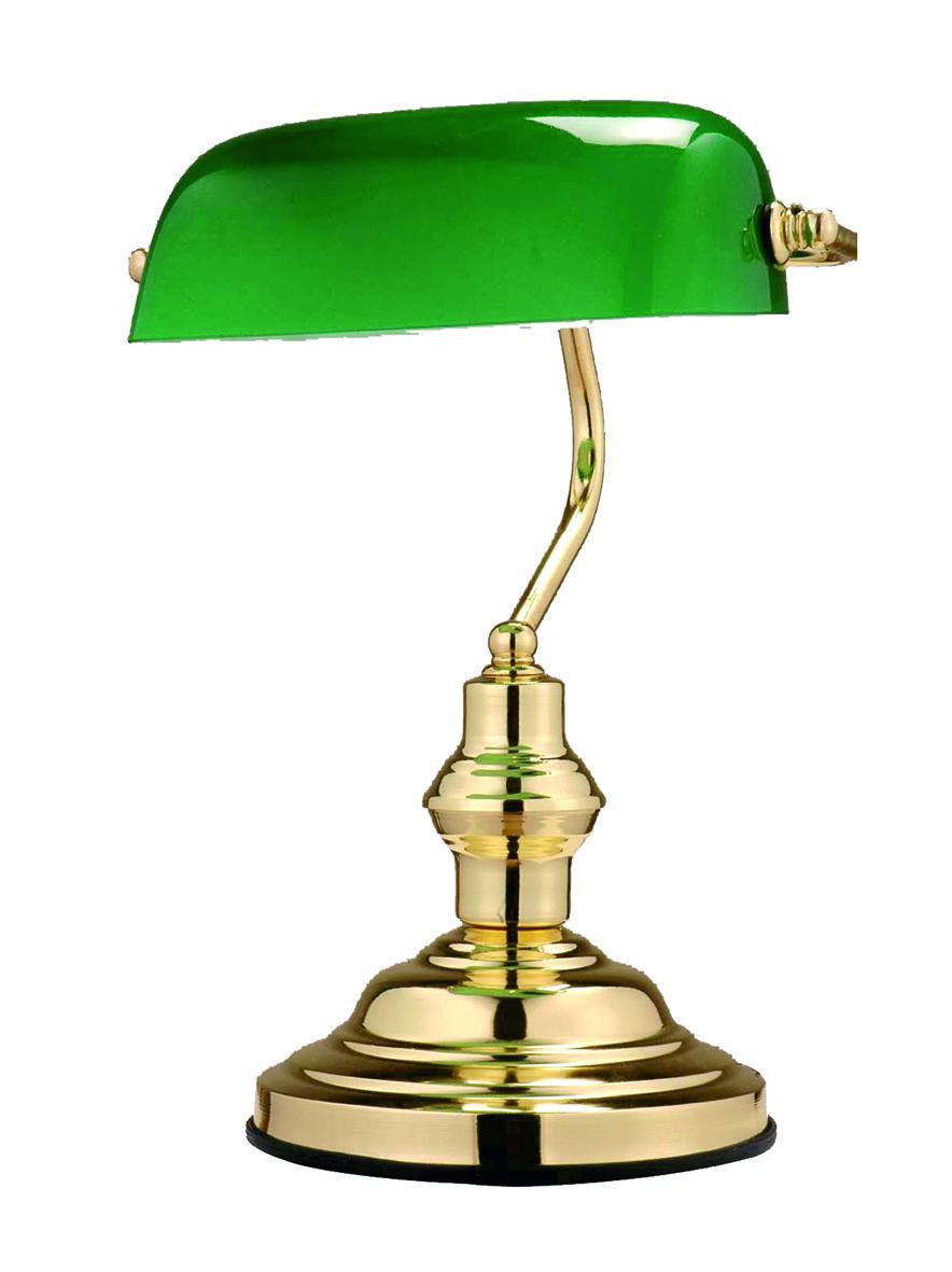 Globo 2491 Настольная лампа ANTIQUE 1x60W E27 золото