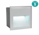 95235 Уличный светодиодный светильник встраиваемый ZIMBA-LED, 3,7W (LED), 140х140,  ET 95, IP65, литой алюминий, серебряный Eglo