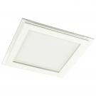 Arte Lamp A4018PL-1WH Встраиваемый светильник неповоротный RAGGIO 1x18W 1440Lm 3000KW  белый