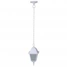 Arte Lamp A1015SO-1WH уличный подвесной светильник  BREMEN 1x60W E27 белый IP44