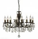 Arte Lamp A6842LM-8AB Люстра  DUCHY 8x60W E14 античная бронза